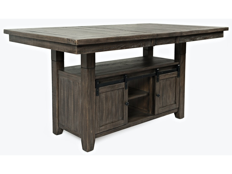 Dining Room Ginger HighLow Dining Table BARNWOOD Impressive Low Dining Room Table