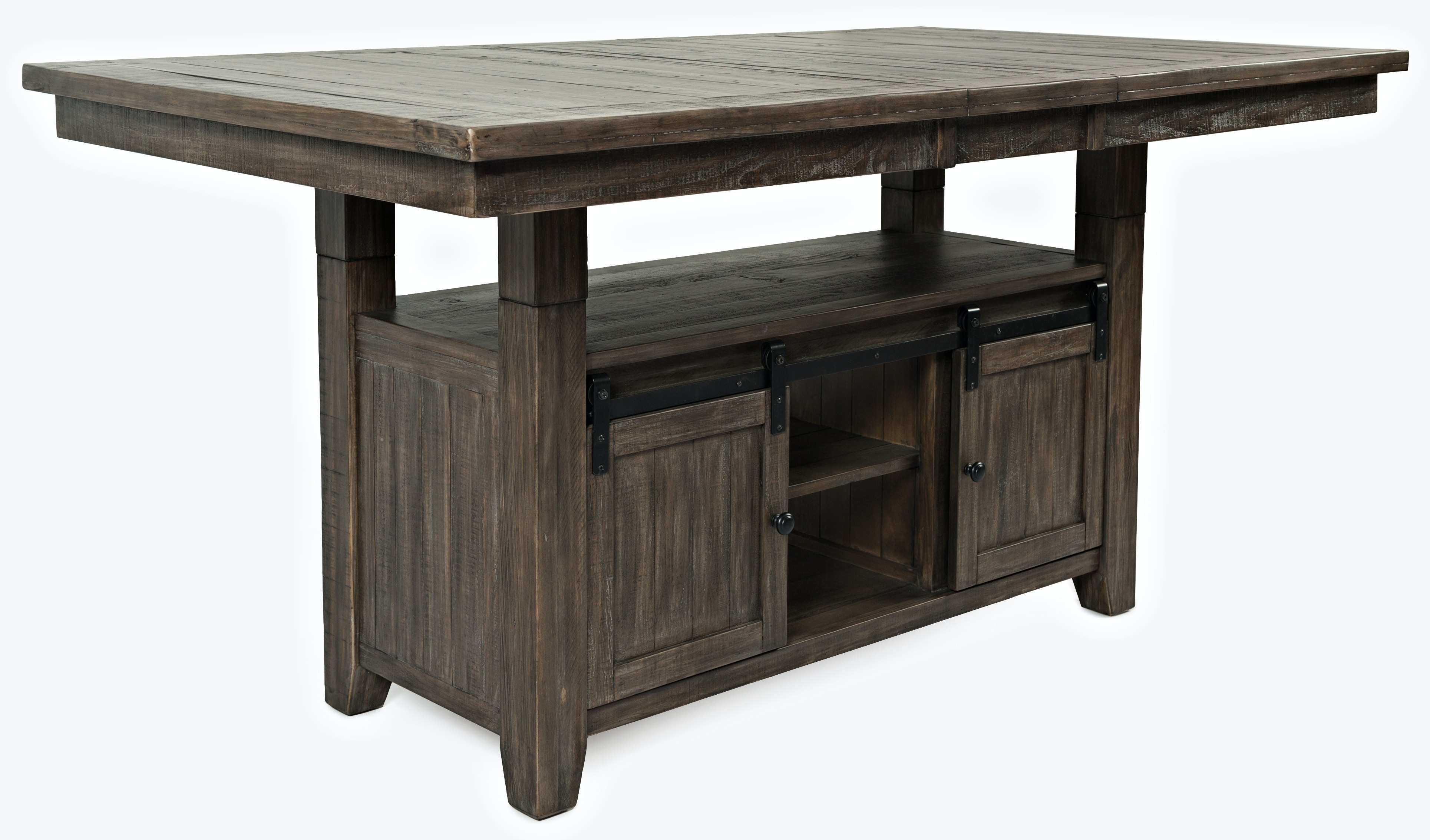 Merveilleux Ginger High Low Dining Table   BARNWOOD