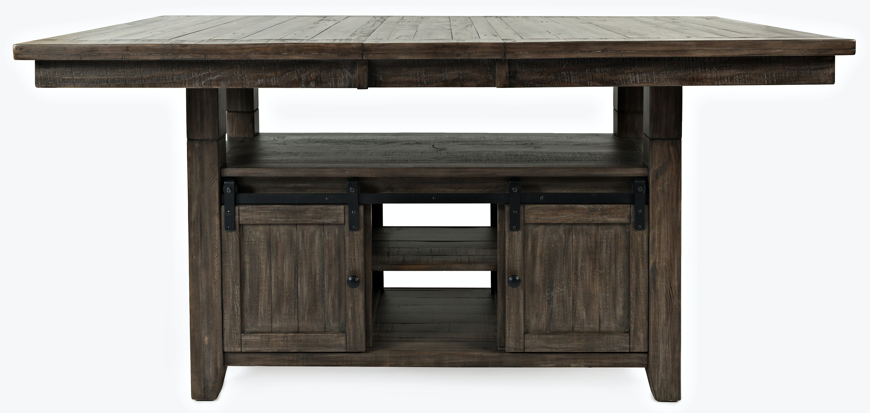 Superieur Ginger High Low Dining Table   BARNWOOD KT:88567