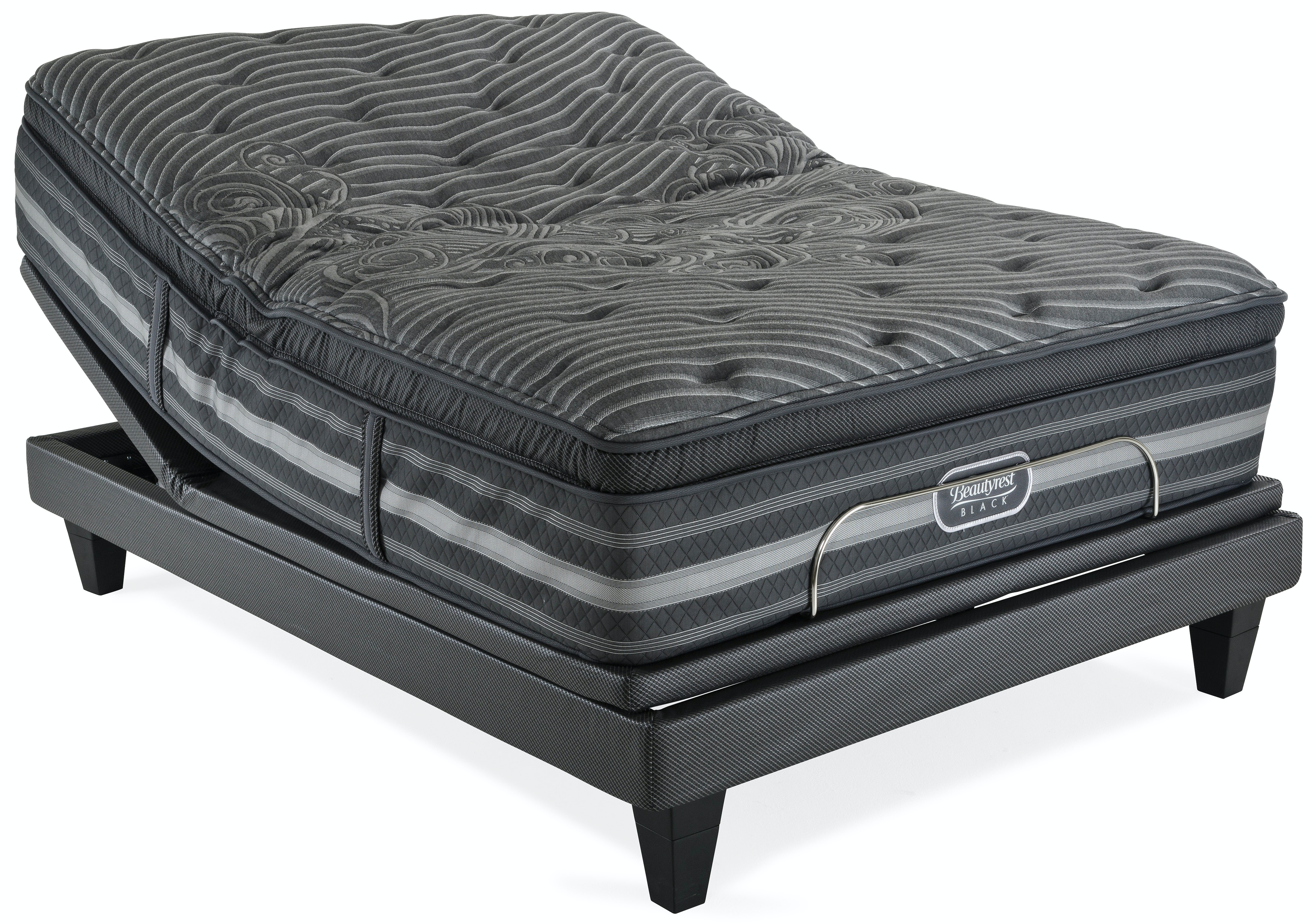 Beautyrest black Mattress Beautyrest Black Natasha Plush Pillow Top Mattress With Smartmotion 30 Adjustable Base Queen Kt Star Furniture Mattresses Beautyrest Black Natasha Plush Pillow Top Mattress With