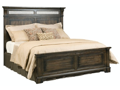 Wildfire Panel Bed - QUEEN