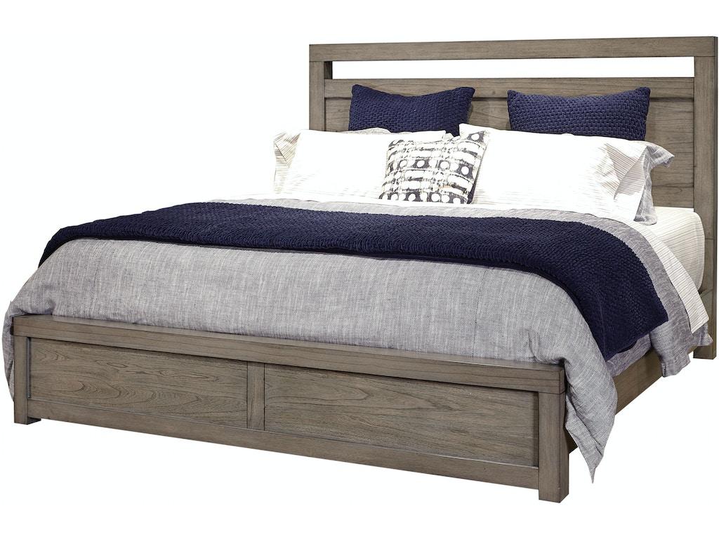 Bedroom Modern Loft Panel Bed KING