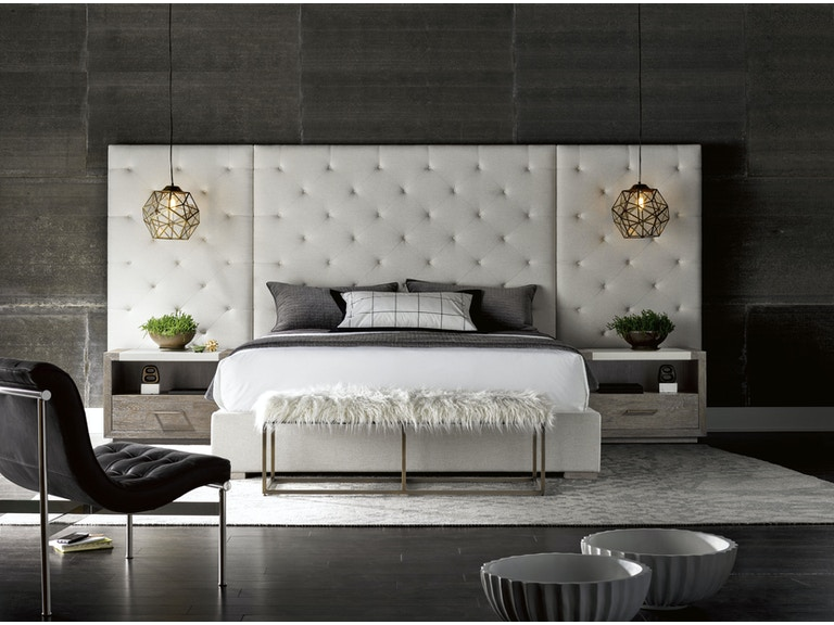 Bedroom modern charcoal brando wall bed for Modern living room furniture houston tx