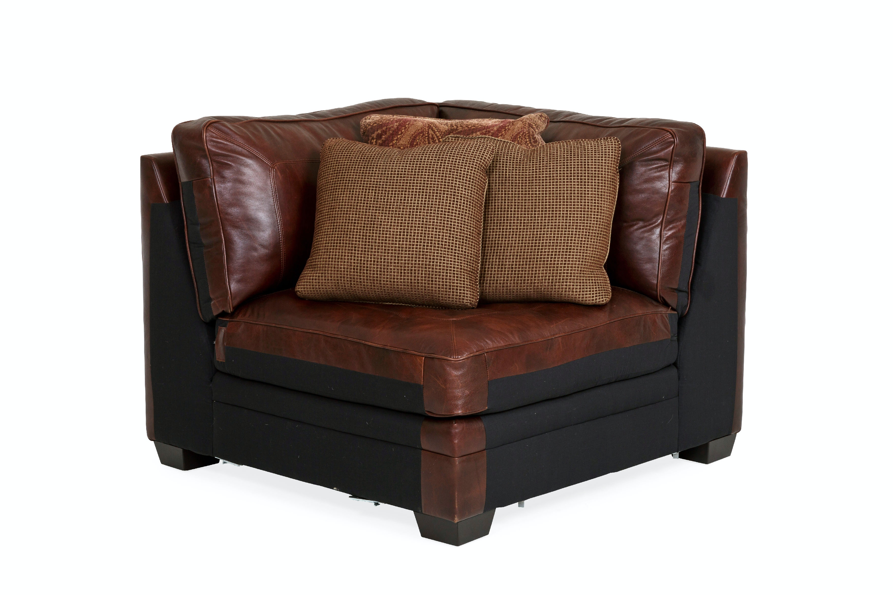 grandview leather corner unit