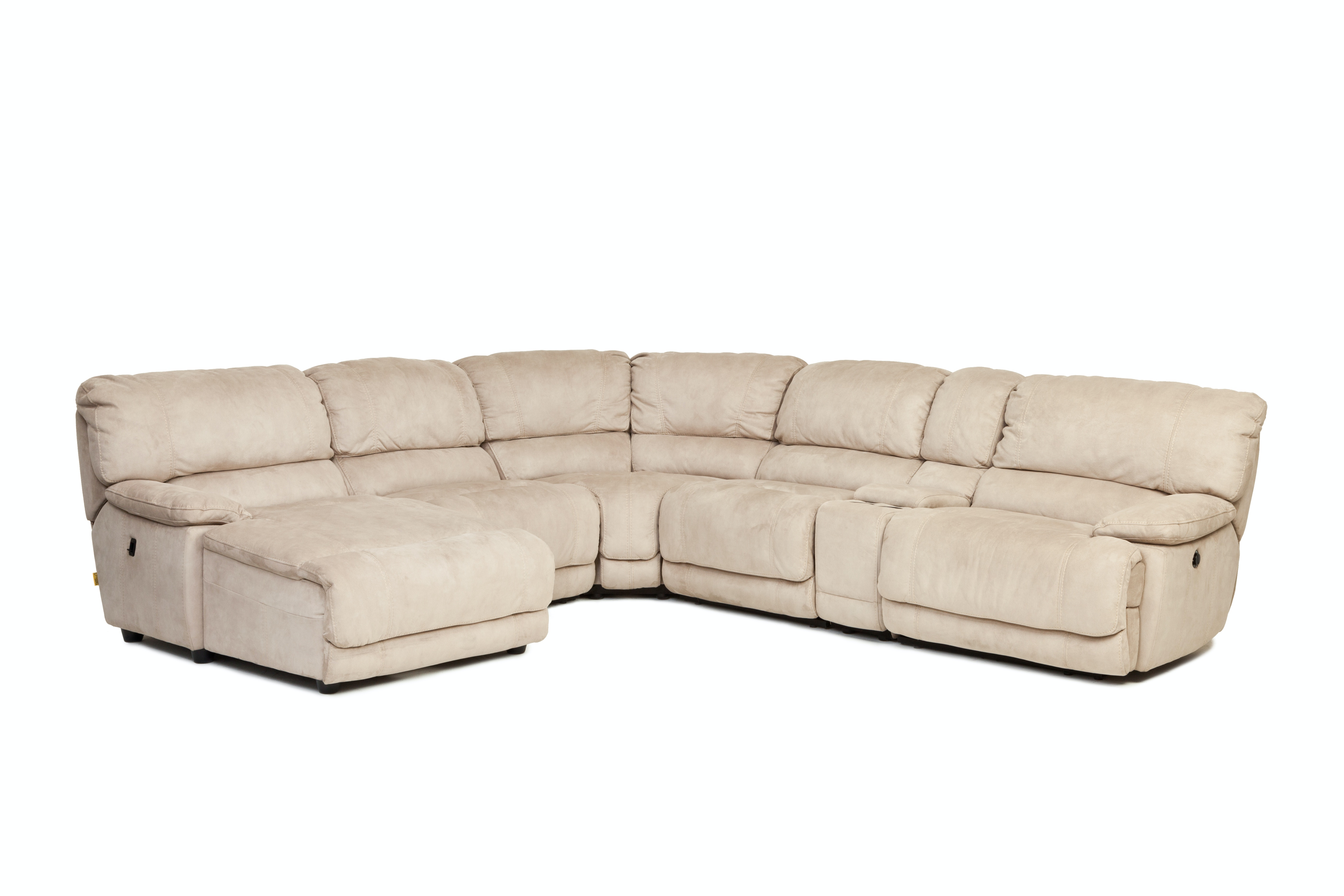Summer Clearance 6piece Wicker Sectional Sofa Gray Image