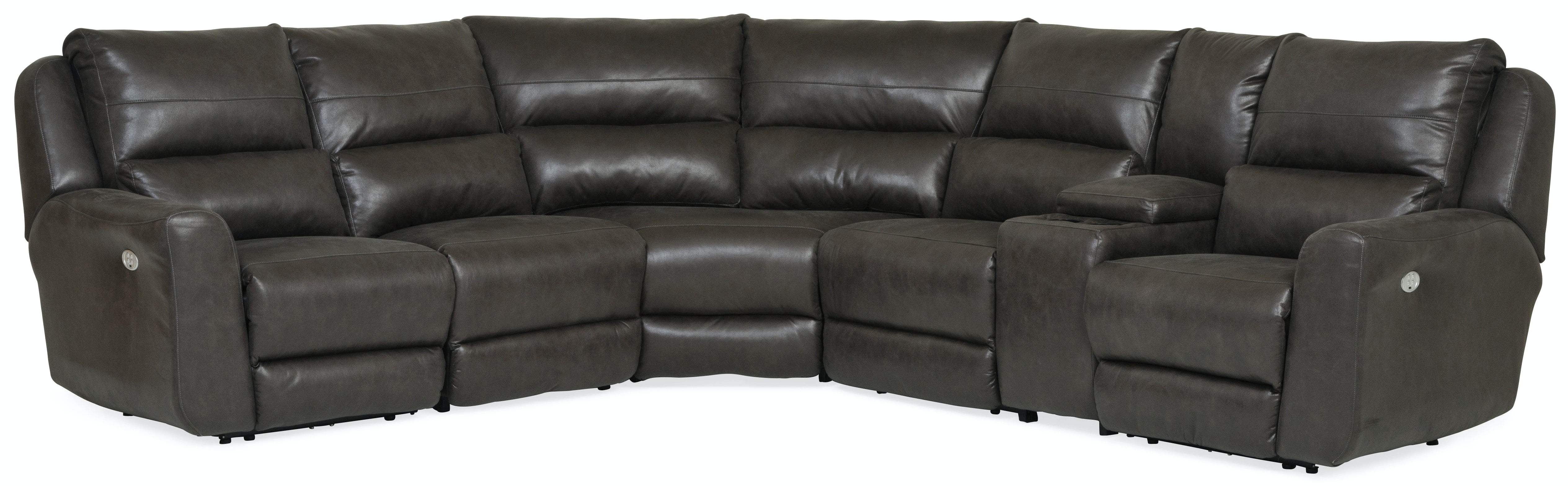 Producer 6 Piece Power Reclining Sectional With Power Headrests GP:M154 Nice Ideas