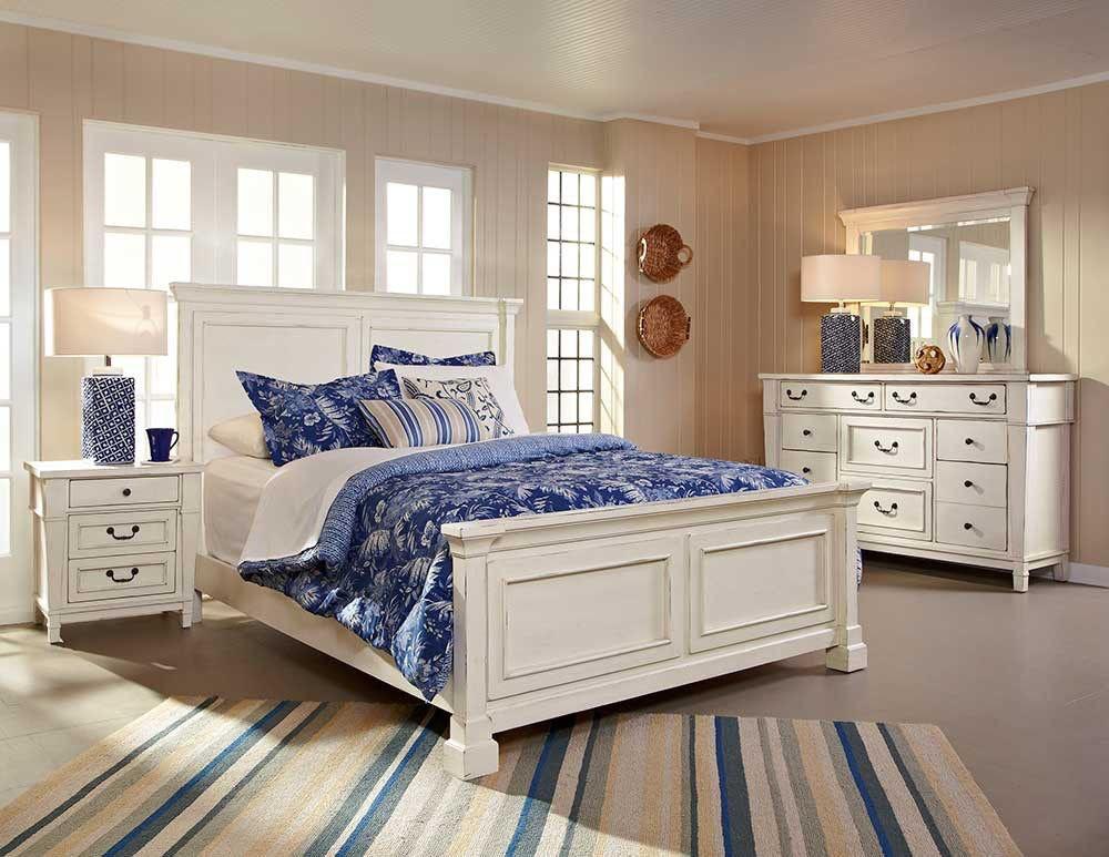 bedroom stoney creek panel bed king