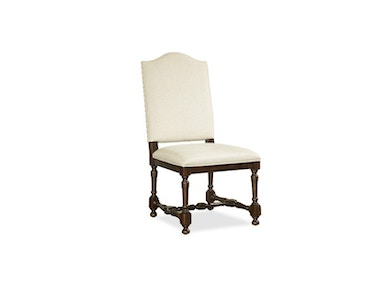 Proximity Upholstered Back Side Chair