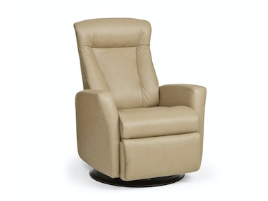 Prince Leather Manual Recliner