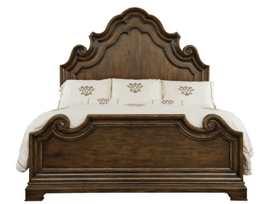 Villa Medici Queen Panel Bed