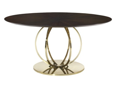 Jet Set Round Dining Table