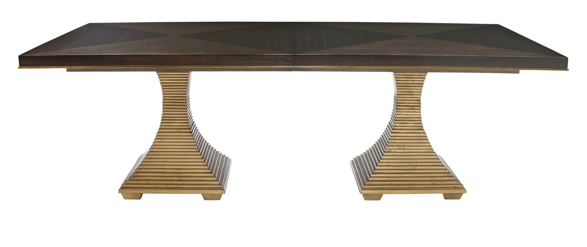 Jet Set Double Pedestal Dining Table KT:28647