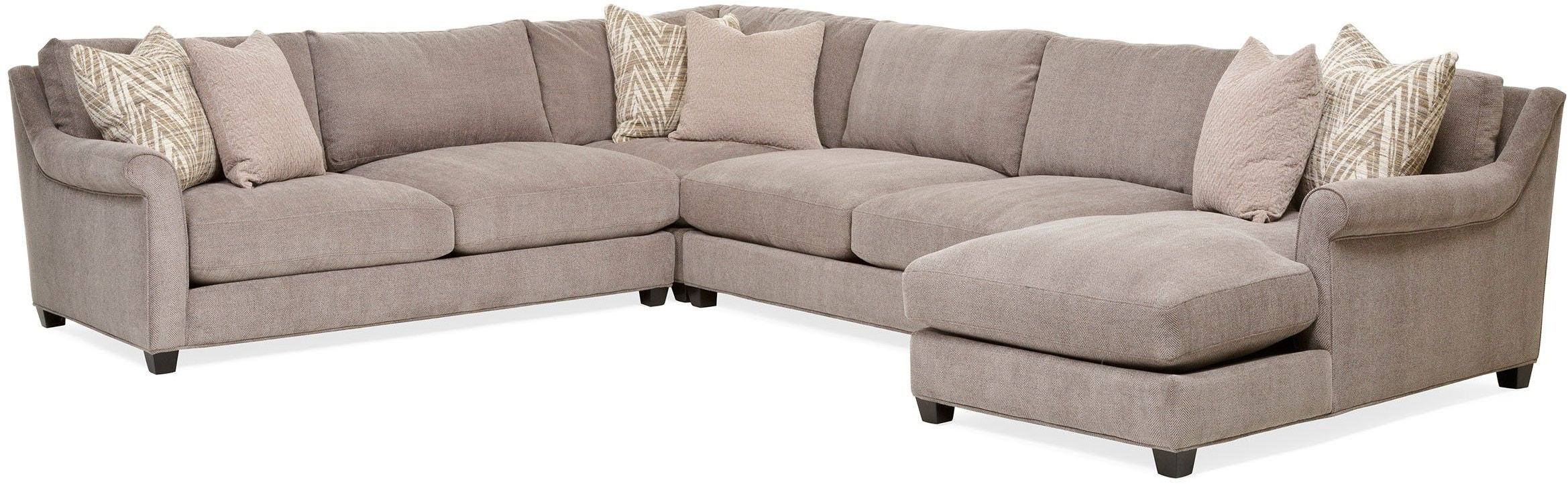 Living Room Shearson 4 Piece Sectional