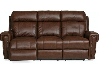 Cedar Leather Reclining Sofa