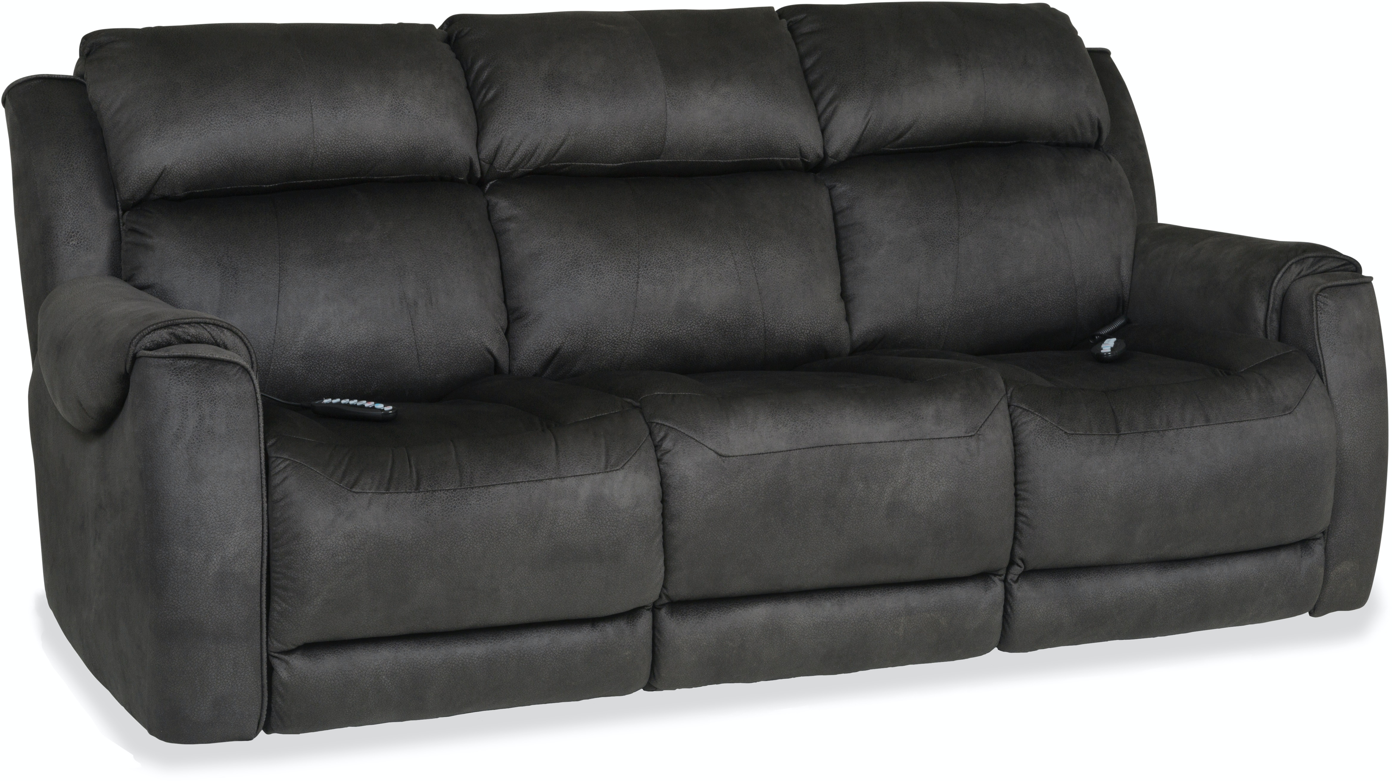 Living Room Safe Bet Power Reclining Sofa With Heat Massage