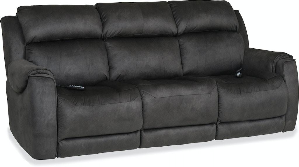 Living Room Safe Bet Power Reclining Sofa With Heat Massage