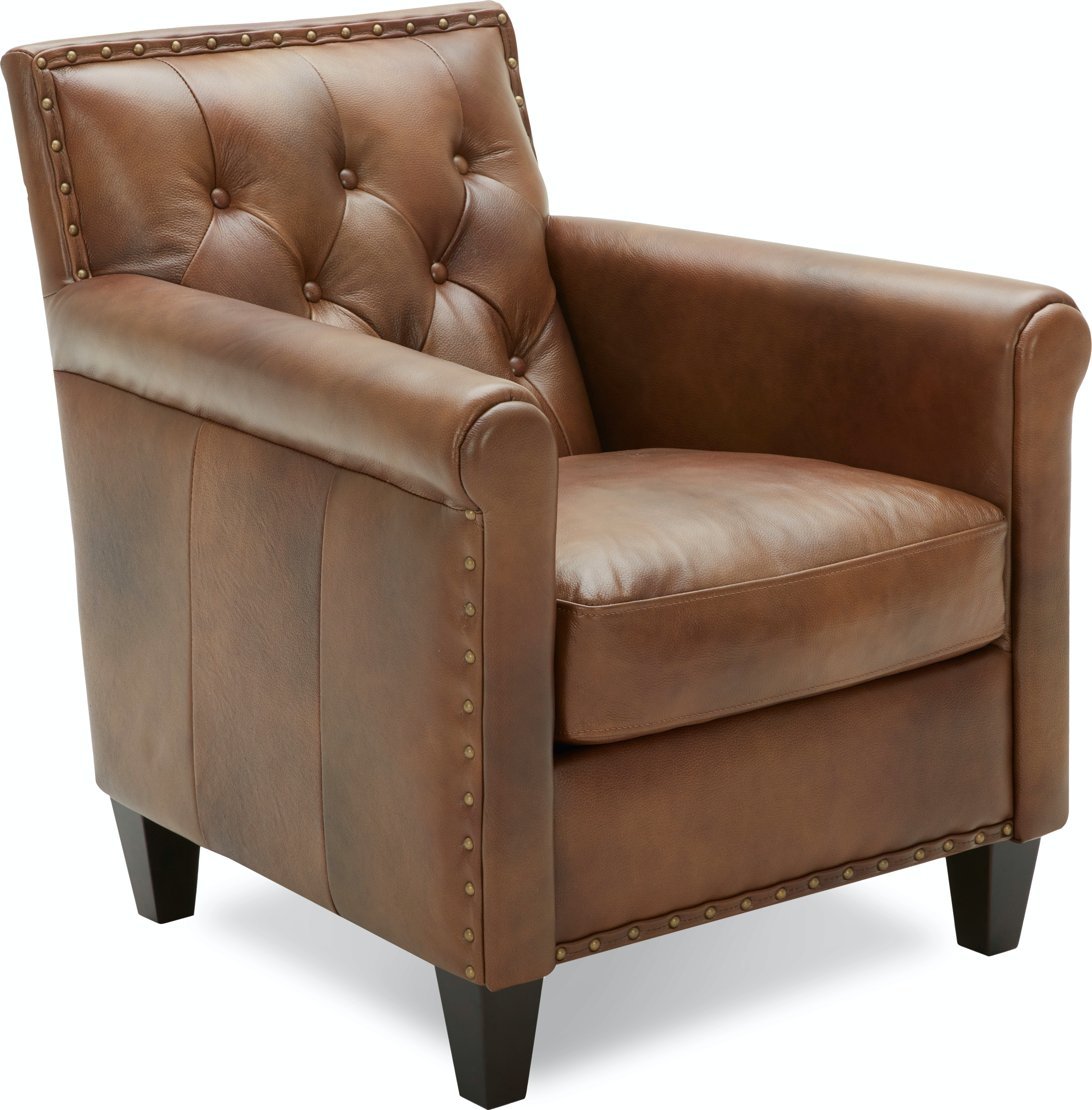 Marquette Leather Accent Chair