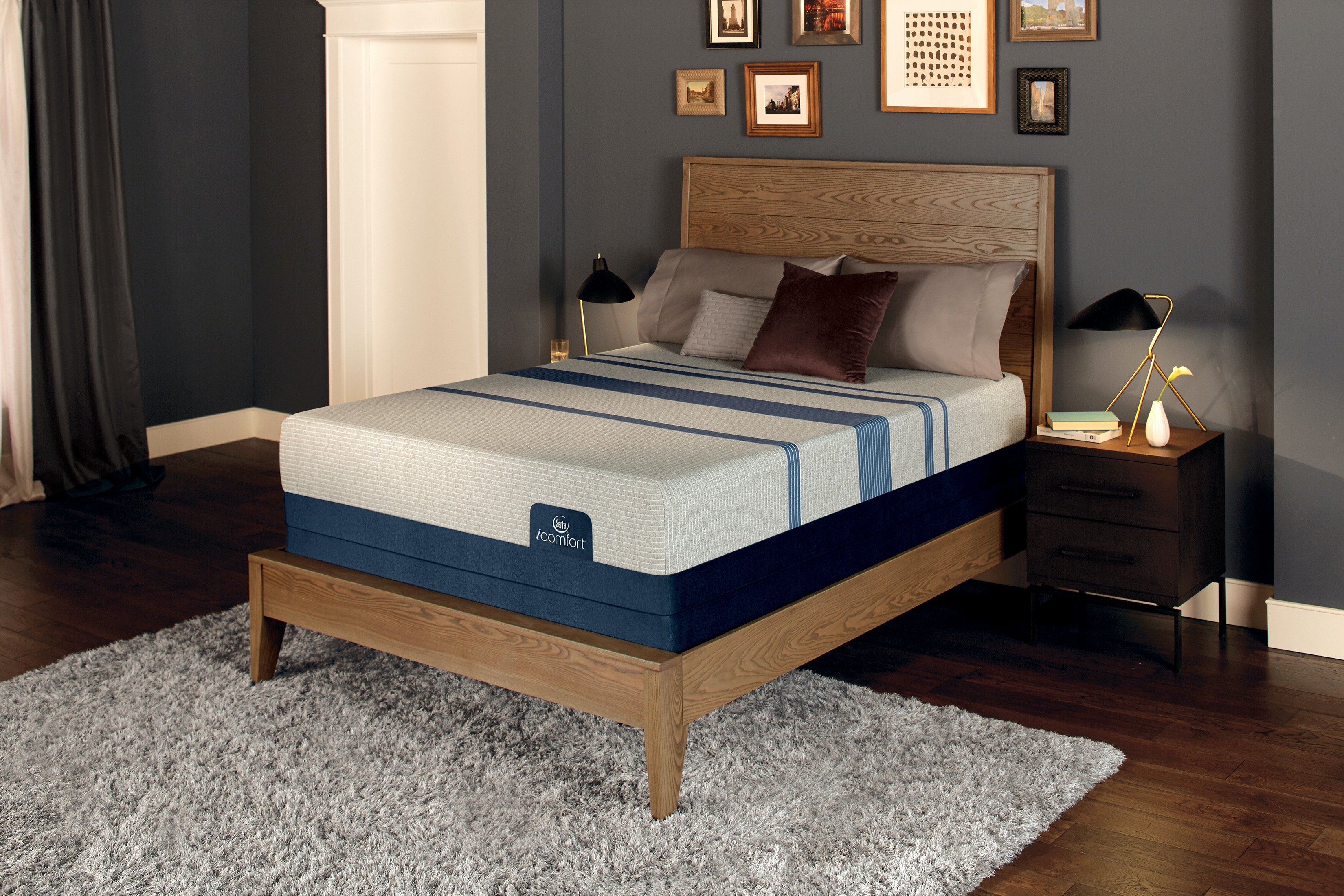 Mattresses Serta Icomfort Blue 1000 Firm Mattress With Motion