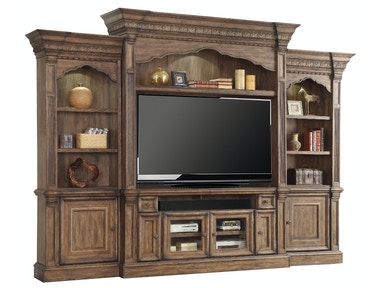 Aria 4-Piece Entertainment Wall With 67 Console