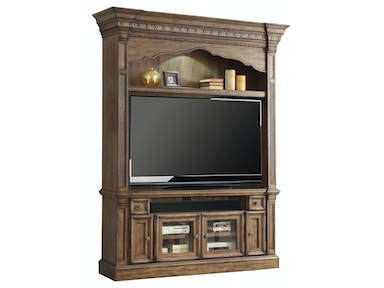 "Aria 2-Piece Entertainment Group (67"" Console With Hutch)"