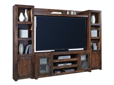 Tabac Alder 4-Piece Entertainment Wall