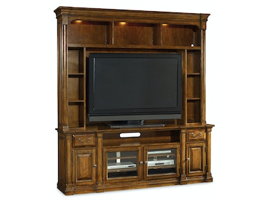 Tynecastle 2-Piece Media Unit (84 Console With Hutch)