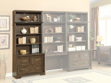 Meridien 2-Piece Lateral File with Hutch