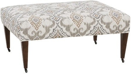 Robin Bruce Living Room Ottoman ASHBY 005 Norwood Furniture