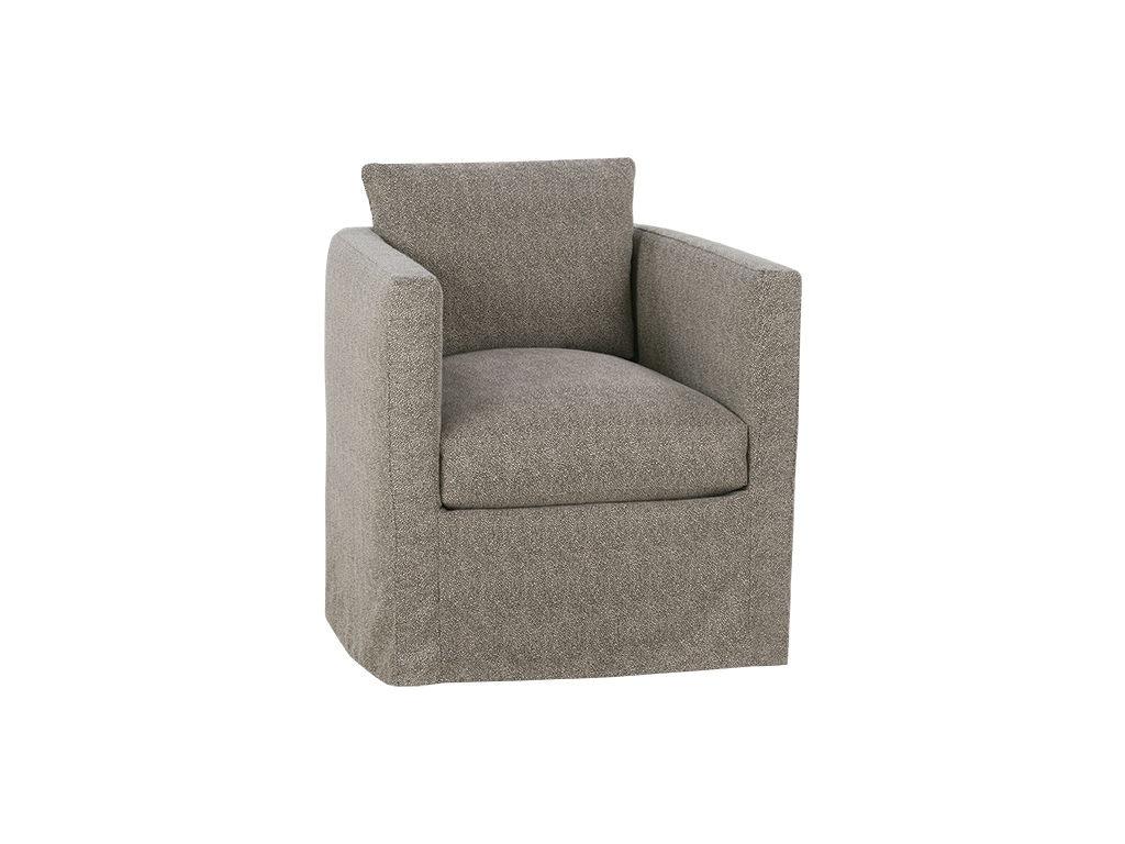 Robin Bruce Slipcover Swivel Chair ROTHKO SLIP 016