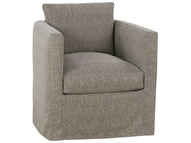 Robin Bruce Slipcover Swivel Chair ROTHKOSLIP016S
