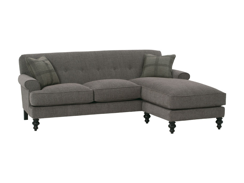Robin Bruce Living Room Chaise Ottoman Whitman 065 Red