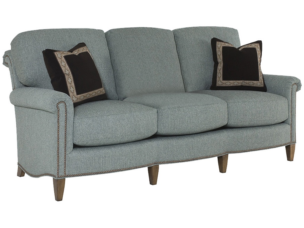 Wesley hall living room barringer sofa 1534 82 hampton for Living hall furniture