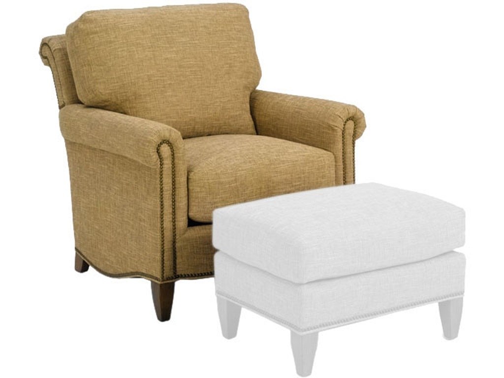 Wesley Hall Living Room Ottoman 1535 26 B F Myers Furniture Goodlettsville And Nashville