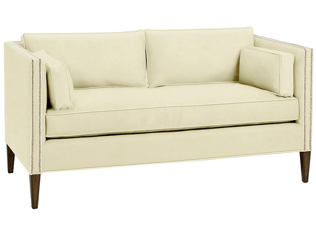 Wesley hall living room blaine sofa 1854 71 hampton for Living hall furniture