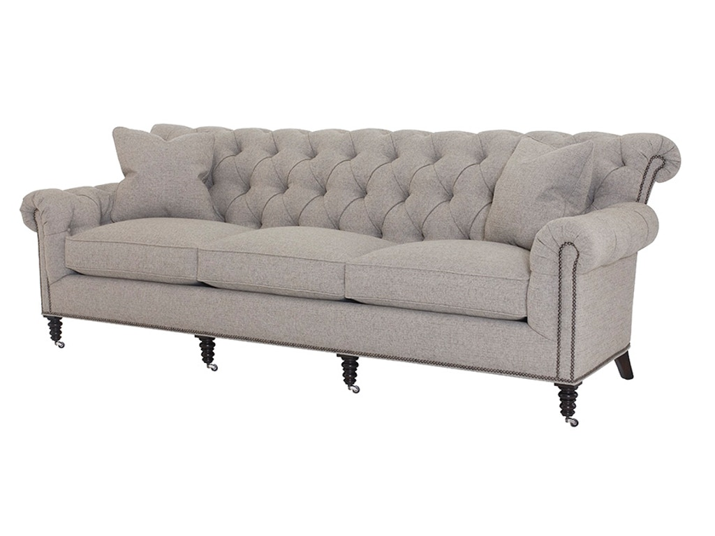 Wesley hall living room crawley sofa 1936 100 weinberger for Living hall furniture