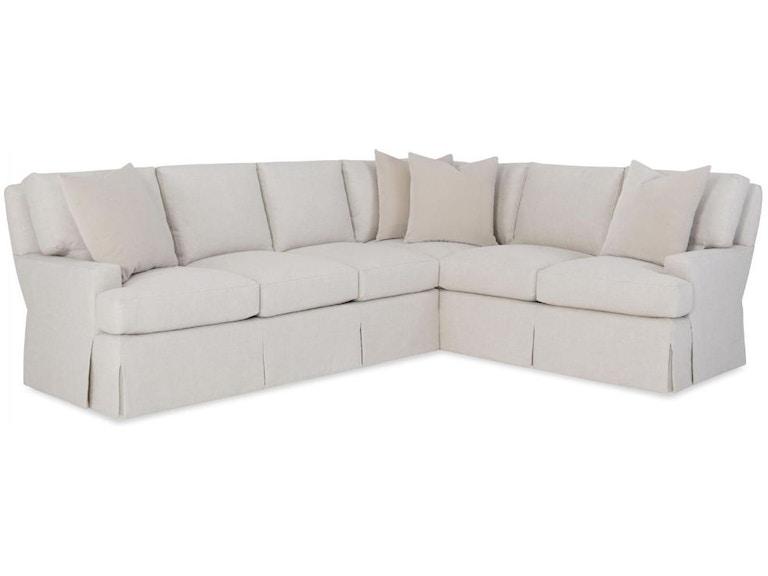 Wesley Hall Living Room Shreveport Sectional 2070 - B.F. Myers ...