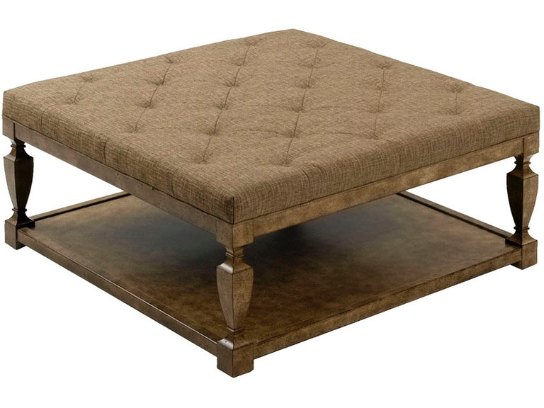 Wesley Hall Living Room Spencer Ottoman 66 At Indian River Furniture