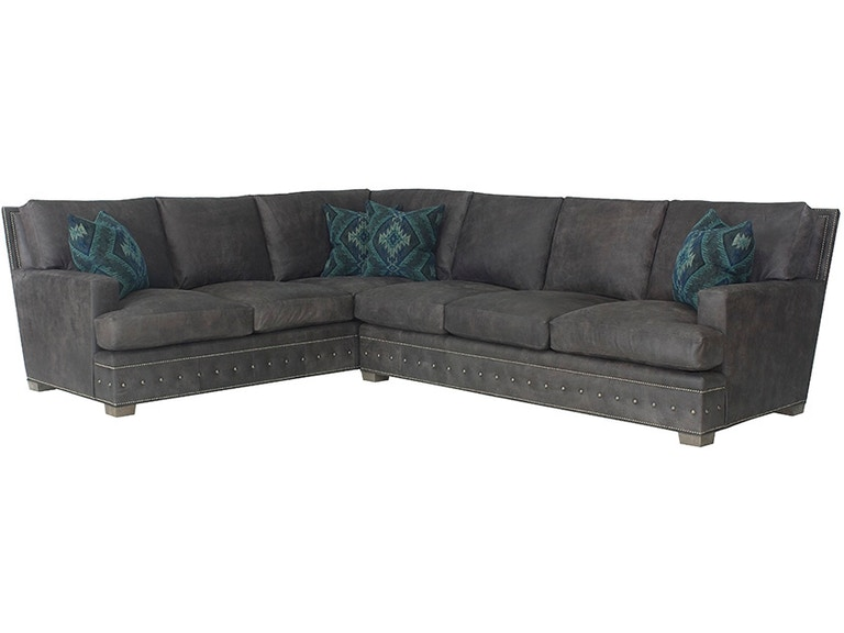 Groovy Wesley Hall Living Room Montgomery Sectional L8210 Machost Co Dining Chair Design Ideas Machostcouk