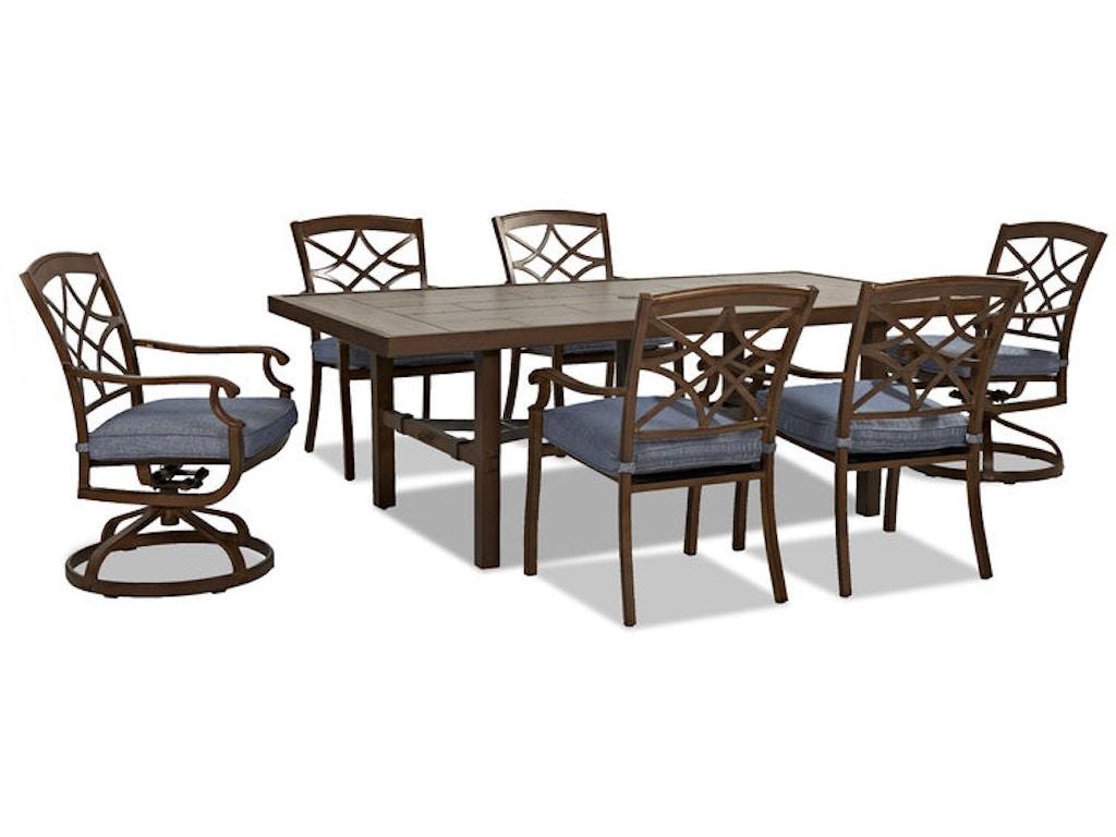 Trisha Yearwood Outdoor 84 Dining Table W9020 DRT84