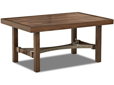 Trisha Yearwood Outdoor Trisha Yearwood Outdoor Rectangular Cocktail Table W9020 RECT