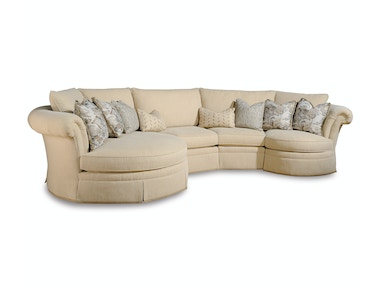 Warren Barnett Private Catalog Baudelaire Sectional 19 Sectional