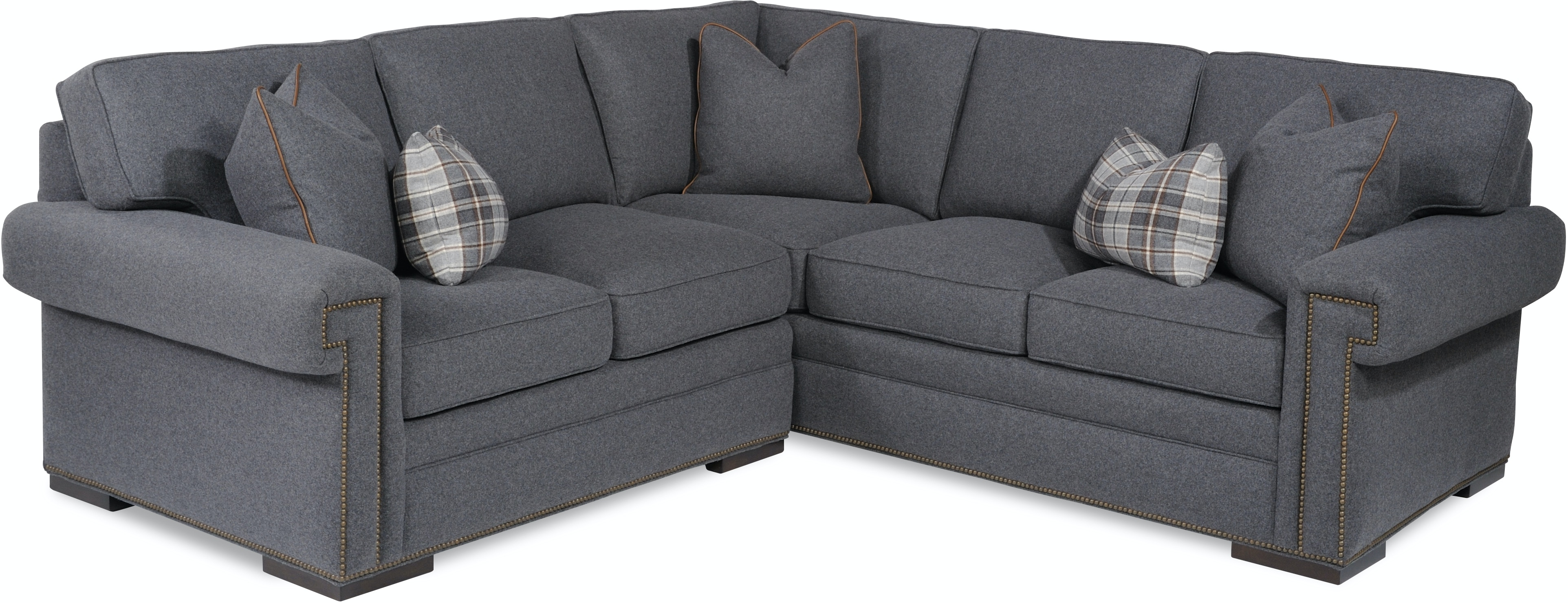 Taylor King Living Room Douglas Sectional 8415 Sectional