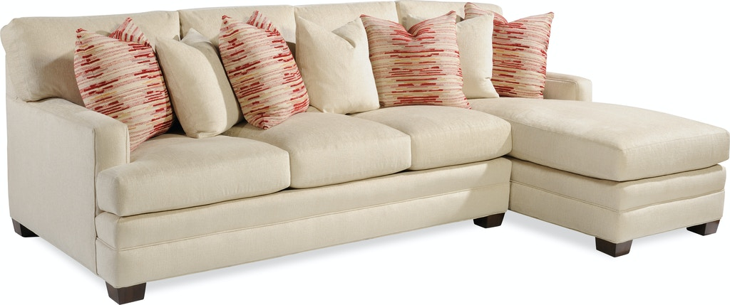Taylor King Living Room Made Continental Sectional