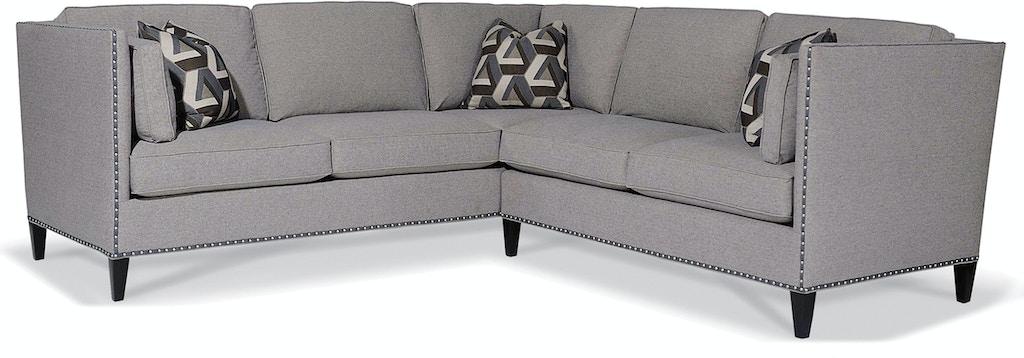 Taylor King K8433 Sectional Living Room Beekman Sectional