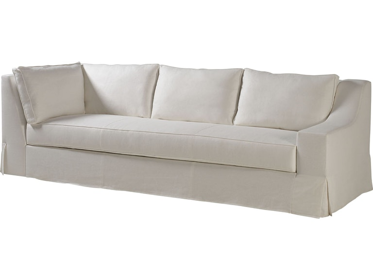 Milling Road Living Room Lax Skirted Sectional One Arm ...