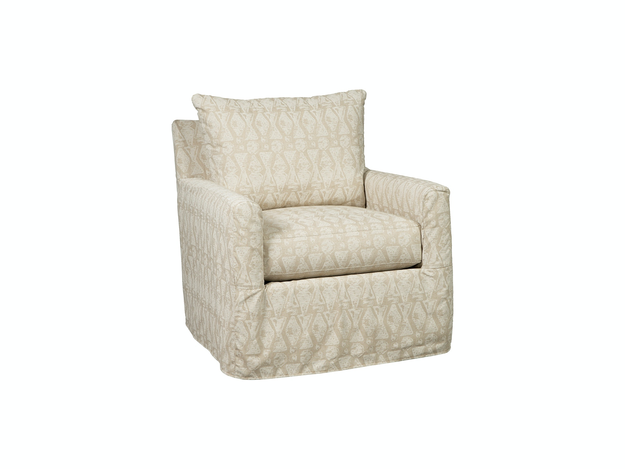 Rachael Ray By Craftmaster Living Room Swivel Chair R083510CLSC At Carol  House Furniture