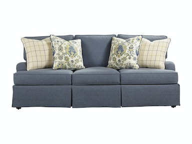 Rachael Ray by Craftmaster Three Cushion Sofa R960150CL