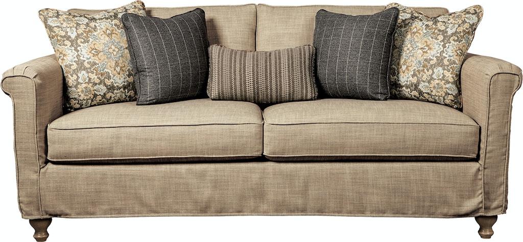 Rachael Ray by Craftmaster Living Room Sofa - Slipcovered ...