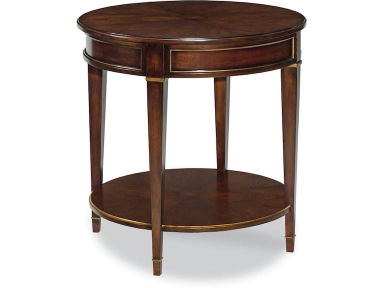 Woodbridge Furniture Living Room La Salle Side Table 1088 14 Marty