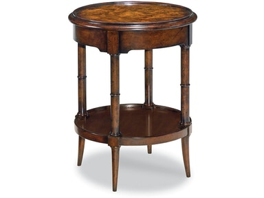 Woodbridge Furniture Living Room Regency Side Table 1060 01 Juliana S Furniture Galleries